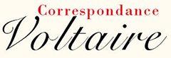 Correspondance Voltaire