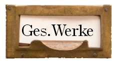 Ges. Werke